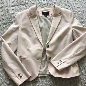 H&M: Light Pink Work Blazer